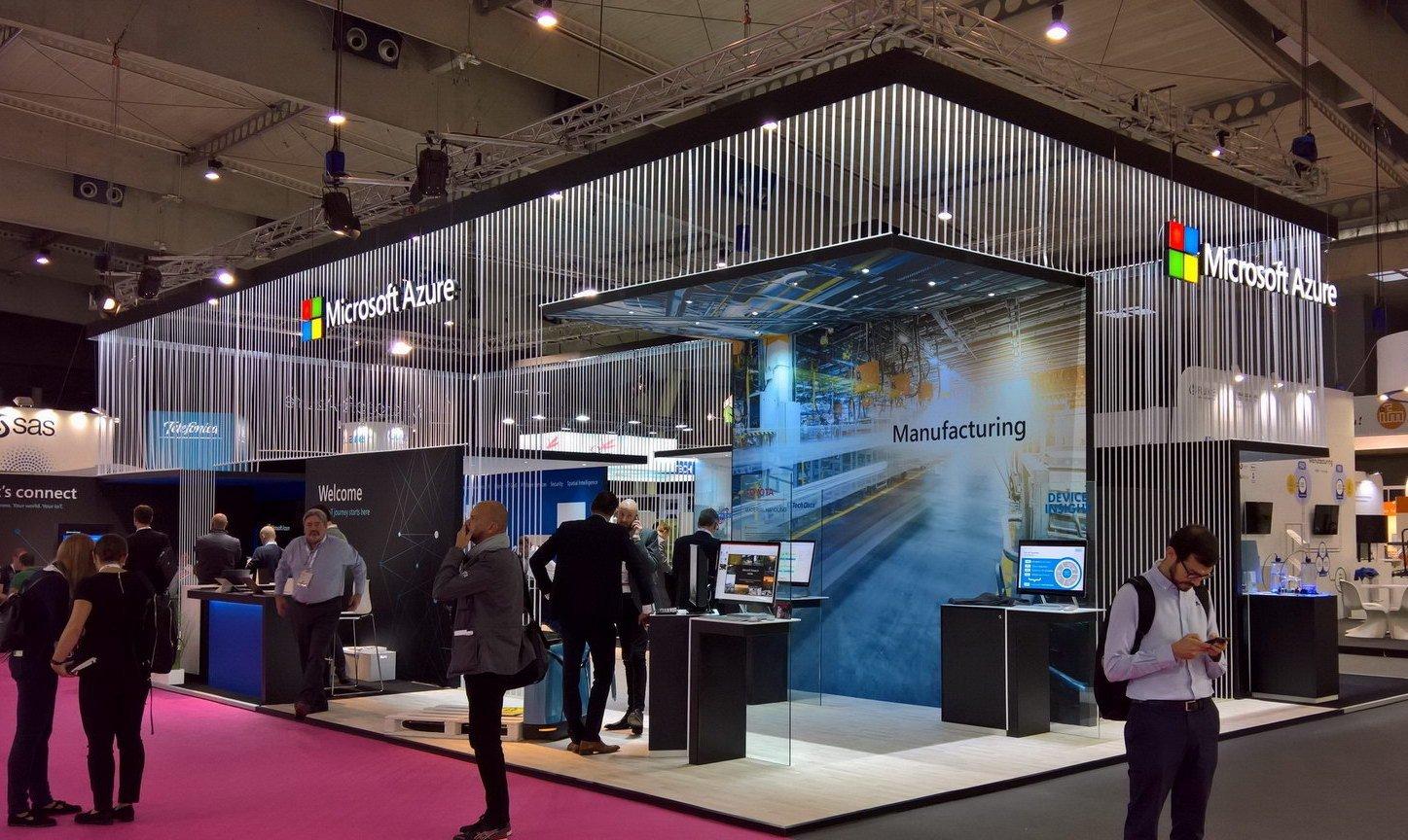 Stand feria Microsoft