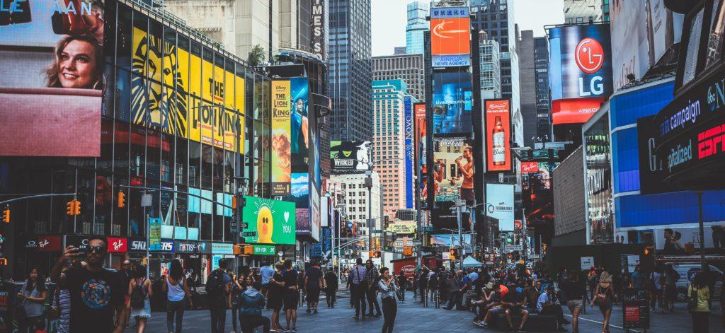 rotulo personalizado nueva york